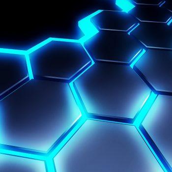 illustration honeycomb technology