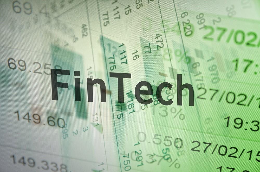 FinTech concept.