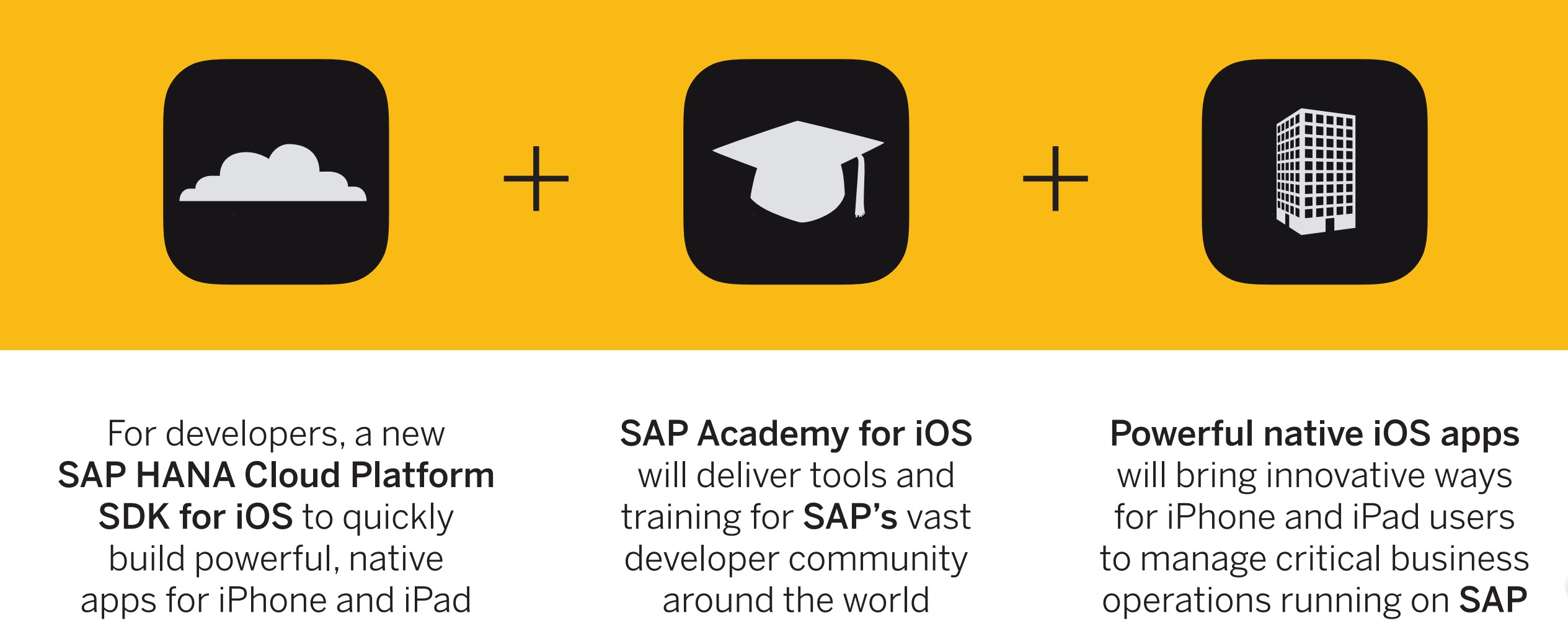 SAP and Apple announce new software developer kit and partnership TechNative