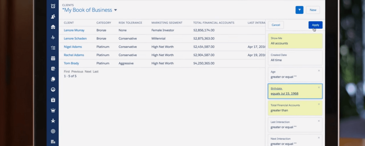 Salesforce Shield helps financial services industry comply