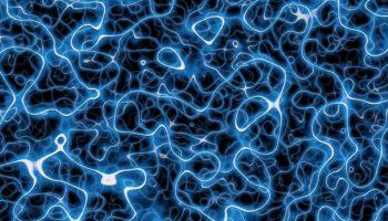 Schleifen aus Energie – Strings – Textur