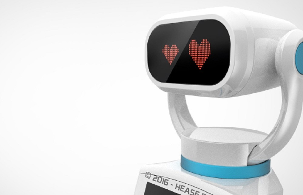 Introducing Heasy<br>the first retail-oriented robot TechNative