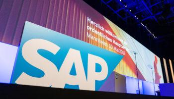 SAP SE Hauptversammlung at SAP Arena in Mannheim, May 10, 2017