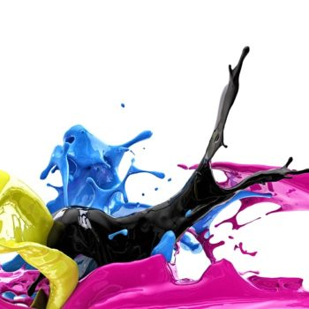 color splash, cmyk