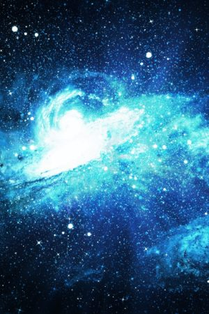 Stars and galaxy space   background,