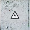 Caution. High voltage.