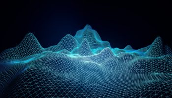 Blue grid waves