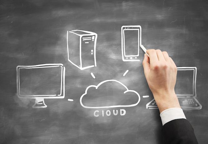 cloud computing on desk