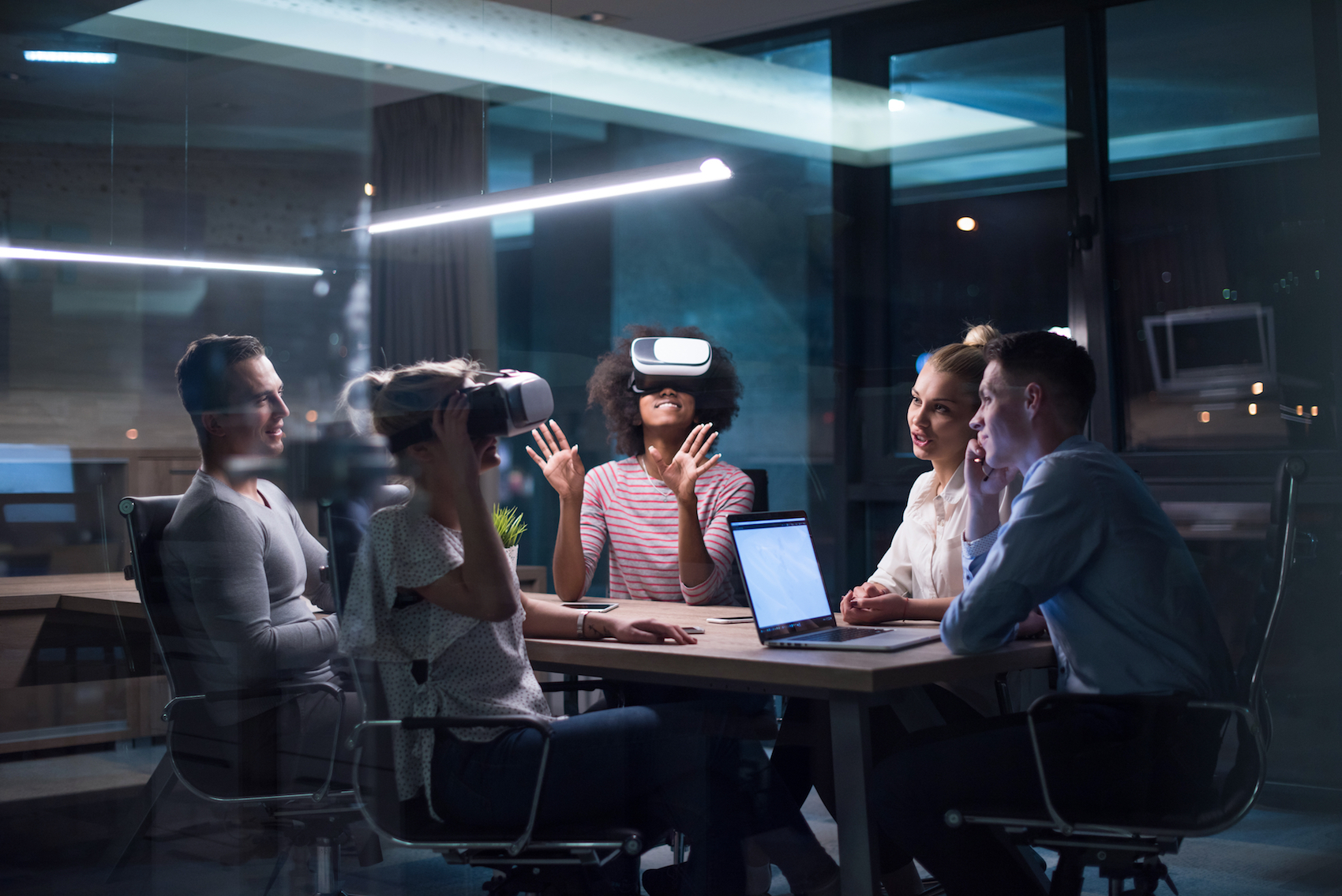 Could VR & AR be making its way into the office? TechNative