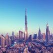 Dubai skyline, United Arab Emirates