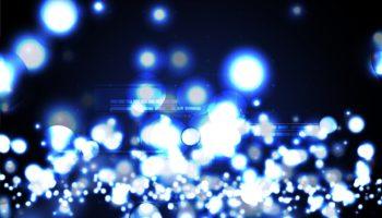 Million Firefly Technological Modern Neon Light Effect Backgroun