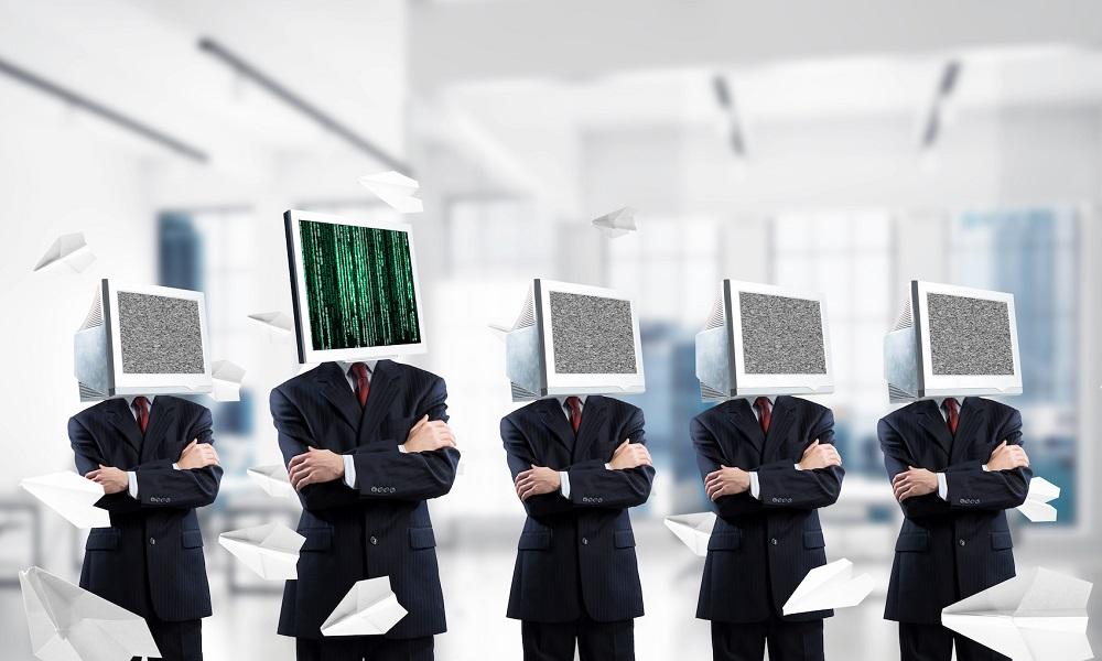 Business addiction on modern technologies.