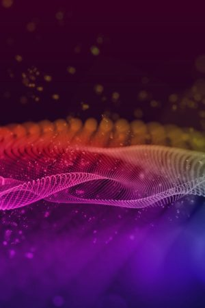 Abstract multicolor wave background.