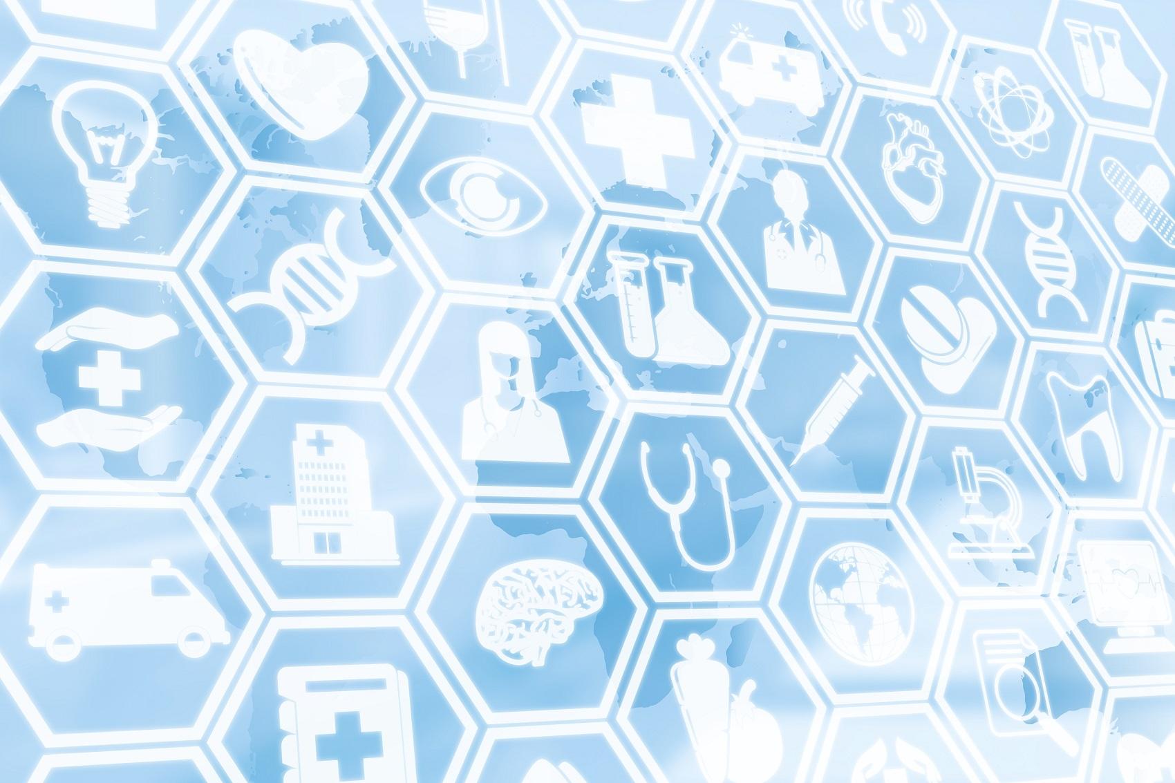 Medical Background, Healthcare Icon Medical Symbol