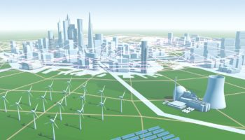 Smart Grids – intelligente Stromnetze: Illustration